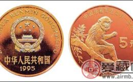 回收珍稀動物金絲猴紀念幣市場行情