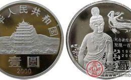 敦煌藏经洞发现100周年纪念币价格如何