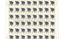 1985年牛邮票整版价格 在大家关注下必然上升