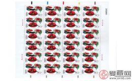 2005年鸡邮票整版价格怎么样