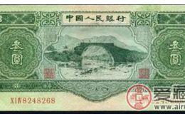 第二套人民币叁元的价格居高