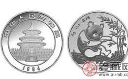 1994年熊猫银币价格与收藏价值