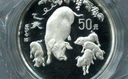 猪年5盎司银币的价格