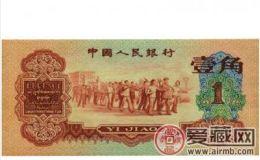 收购第三套人民币枣红1角价格