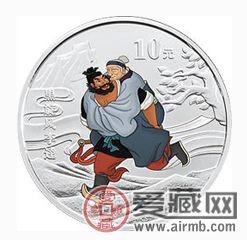 水浒传第三组彩银套币多种价值于一身