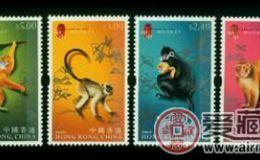 HK S129 三轮猴邮票收藏要趁早