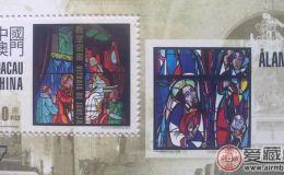 AM B112 教堂窗畫(小型張)
