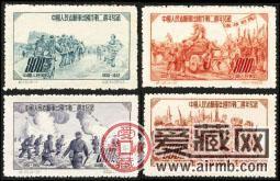 纪19 中国人民志愿军出国作战二周年纪念邮票
