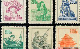 普6 不同图案普通邮票很少见