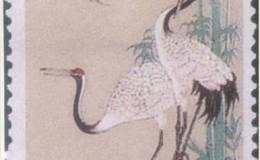 《丹顶鹤》特种邮票真假辨别方法