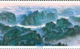 长江叁峡小型张邮票介绍