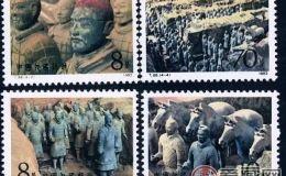 T88 秦始皇陵兵马俑 传承历史的经典邮票