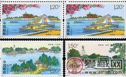 2015-7《瘦西湖》四方連收藏行情
