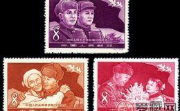 纪57 中国激情电影志愿军凯旋归国纪念邮票收藏分析