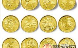 首轮十二生肖流通纪念币价格尤为突出