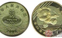 2008奥运流通纪念币收藏分析