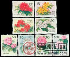 T162杜鹃花邮票资讯