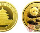 2000年熊猫纪念币金币套装简介