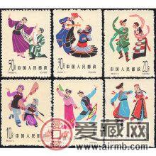 特49 中國民間舞蹈(第一組)郵票