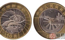10元龙年纪念币价格是多少
