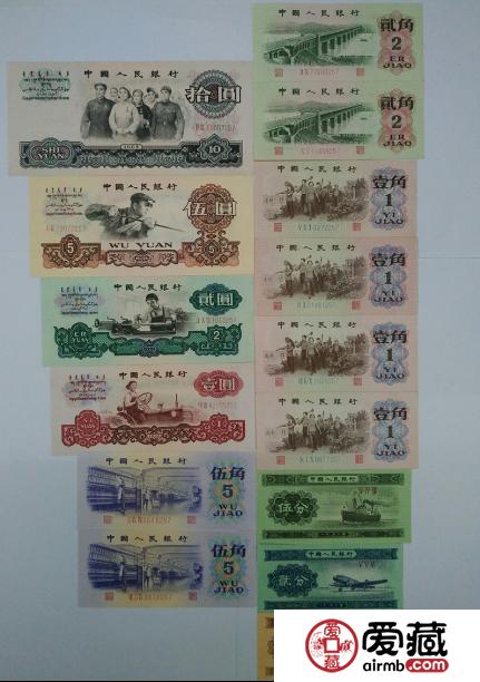 第三套人民幣小全套價格貴不貴,值得收藏嗎