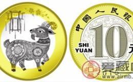 2015年羊年纪念币最新价格