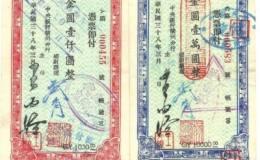 民國時期甘肅銀行票證知多少