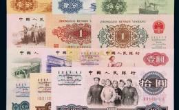 第三套人民幣各面值暗記大全