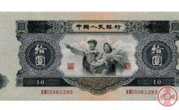 第二套10元人民币背面图案是什么
