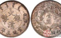 大清银币长须龙壹圆收藏介绍
