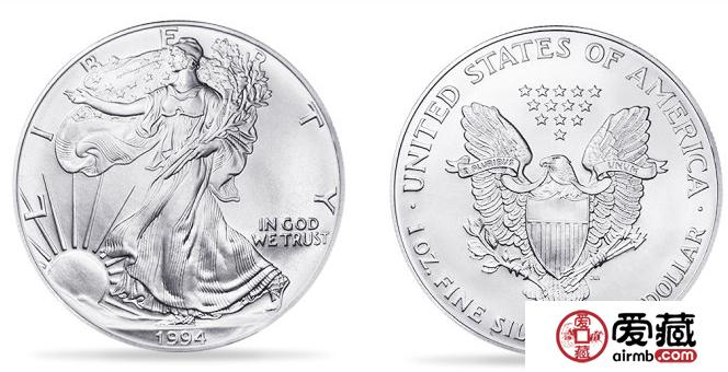 美国鹰洋银币图片及介绍