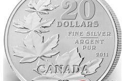 加拿大枫叶银币