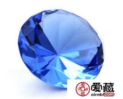 天然蓝水晶与人造的区别表现在哪里,如何鉴别