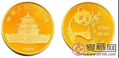 你见过无面值的熊猫金币吗