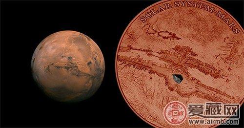 """""""火星""""纪念银币"""