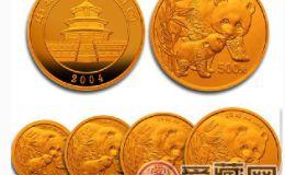 2004年熊猫金币套装回收价格在持续上涨