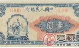 【第一套人民币】2017年11月回收价格表