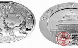 熊猫银币值多少钱