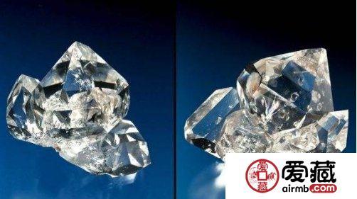 水晶和钻石的区别