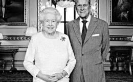 英女王白金婚 白金汉宫发布纪念照片和邮票
