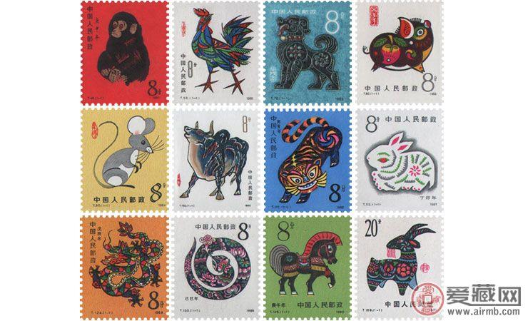 【第一轮生肖邮票】2018年1月回收价格表