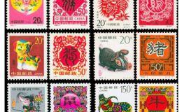 【第二轮生肖邮票】2018年1月回收价格表