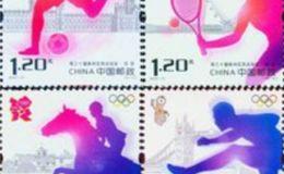 伦敦奥运纪念邮票为什么在国内受欢迎