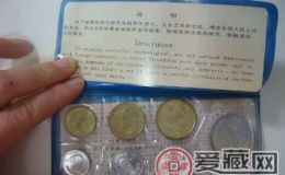硬幣套裝發行量哪一年的最少?