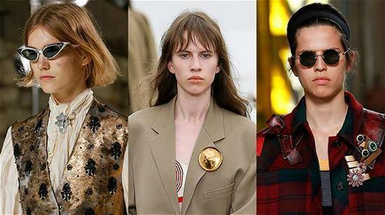 the Céline, Louis Vuitton ,Miu Miu