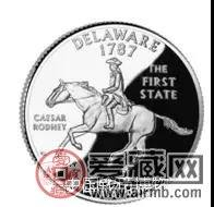 第一枚美国50州纪念币