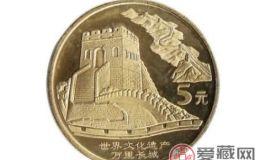 【长城硬币价格表】2018年4月