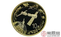 中国航天纪念币选择的是什么图案