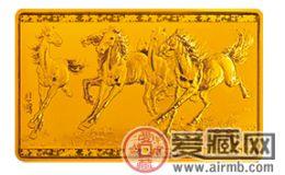 品六骏,忆悲鸿——赏中国近代国画大师(徐悲鸿)5盎司长方形金