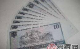四版币整体调整,8010反而稳步上升!它会成第四套人民币的黑马吗